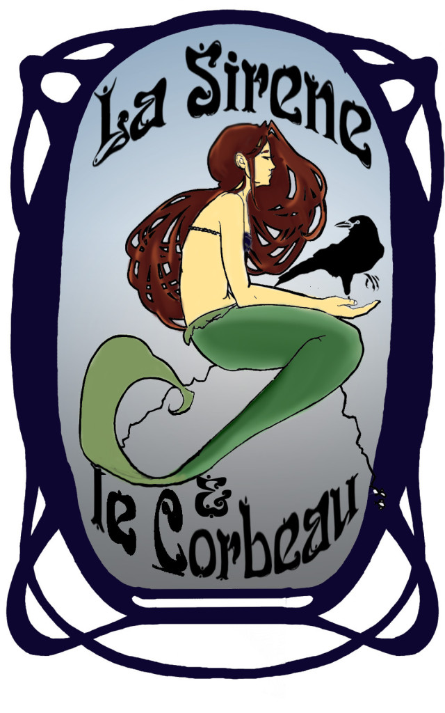 Sirene et Corbeau COLOR