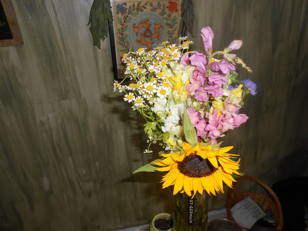 Flowers from the Ritual