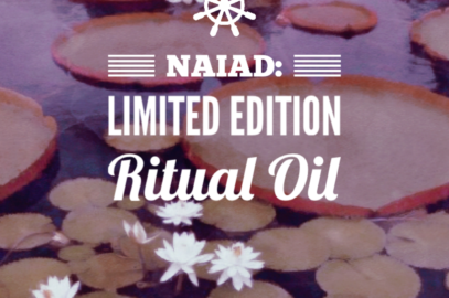 Last Day to Buy: Naiad June's Limited Edition Ritual Oil