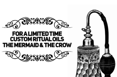 Custom Ritual Oils Available for a Limited Time