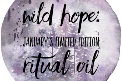 Last Day to Buy January's Limited Edition Ritual Oil!