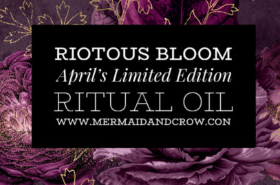 Last Day to Buy April's Limited Edition Ritual Oil 🍃